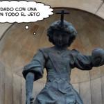 Curiosidades de Barcelona: el ángel del sartenazo