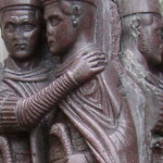 Los tetrarcas robados en San Marcos de Venecia