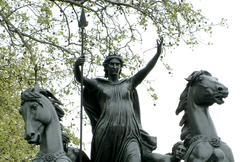 Boudica Estatua