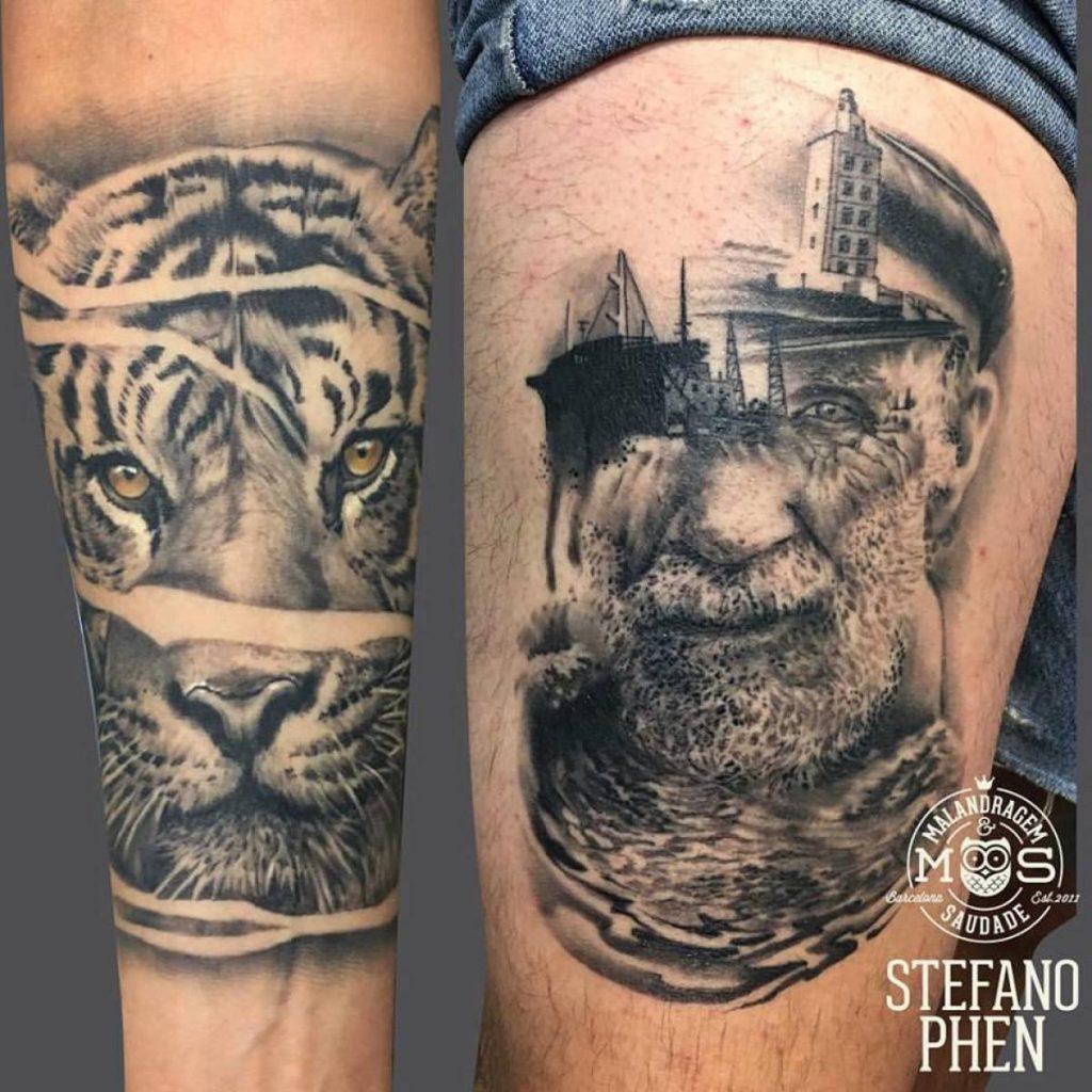 Los mejores tatuadores de barcelona precios y estilos for Los mejores tatuadores